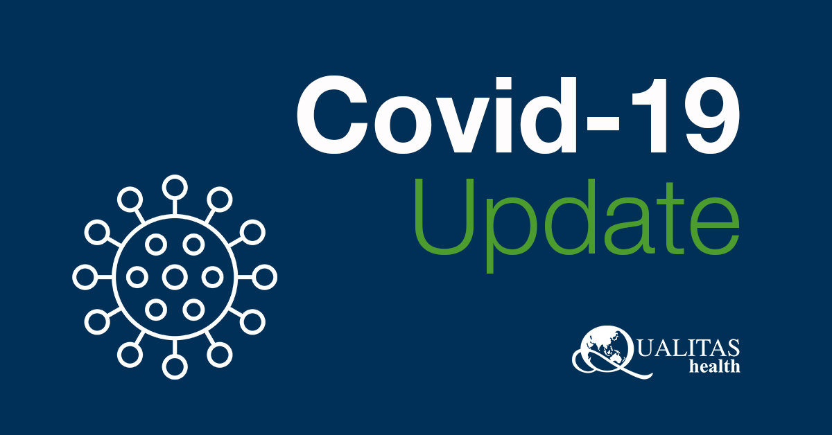 Covid-19 Update from Qualitas health